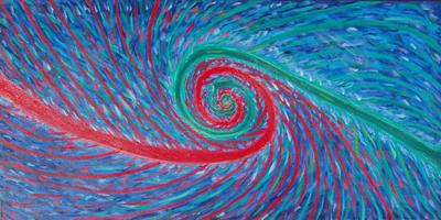 Red Green Spiral