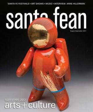 In The Press: The Red and The Black Reviewed in Santa Fean Magazine