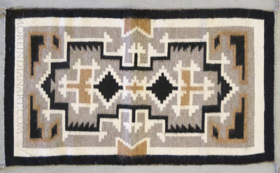 Navajo Two Grey Hills Rug by Betty Bedah