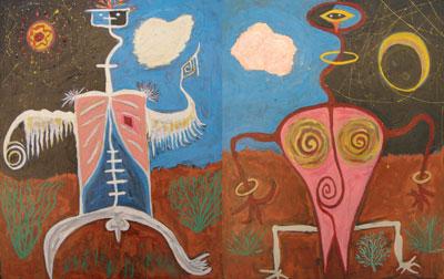Mr. & Mrs. Petroglyph