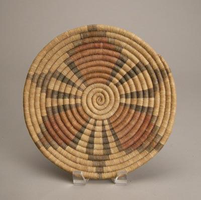 Hopi Coil Plaque, c.1930