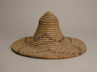 Hopi Coil Padre Hat