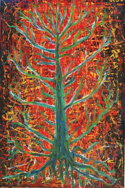 The Tree Of Life The Healing Of The World Tree Of Life I Oil