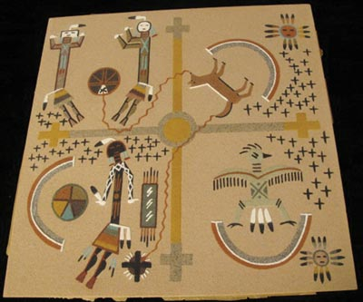 Navajo Creation Myth Sandpainting