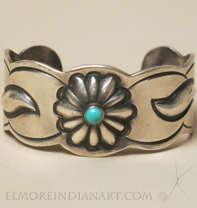 Navajo Silver Bracelet, c.1960
