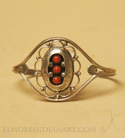 Navajo Shadow Box Bracelet, c.1970