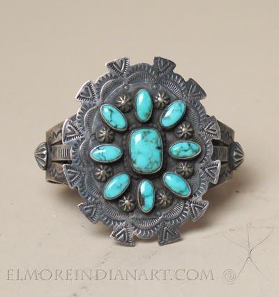 Navajo Cluster Bracelet, c.1950
