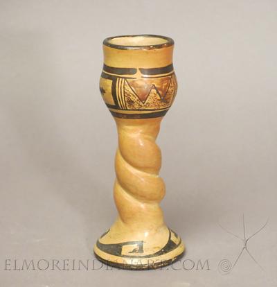 Rare Twisted Hopi Candlestick