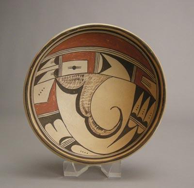 Hopi Polychrome Bowl, c.1930
