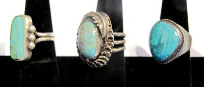 Two Great Turquoise Rings