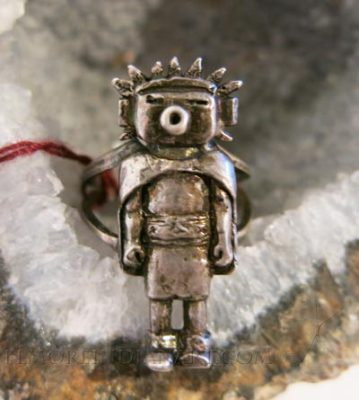 Silver Kachina Ring