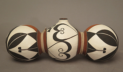 Acoma Triple Canteen by Lilly Salvador